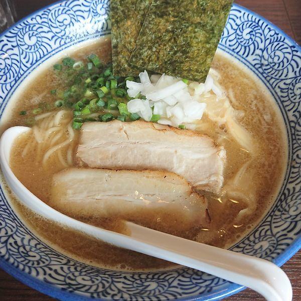 「濃厚煮干」@煮干し中華そば 麺屋銀星 井荻店の写真