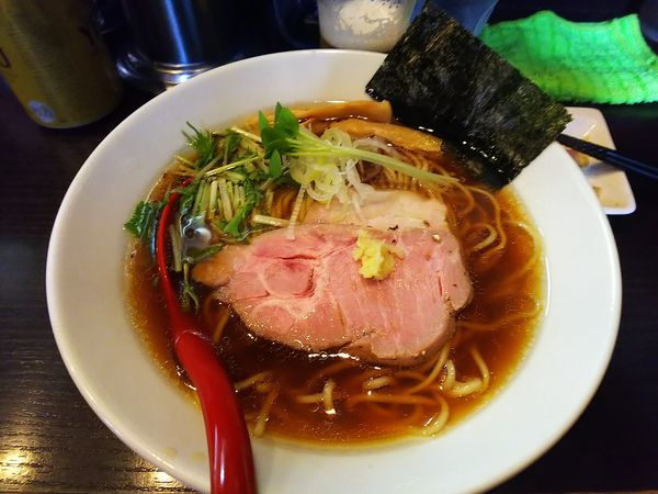 「清湯醤油ラーメン」@麺処 夏海の写真
