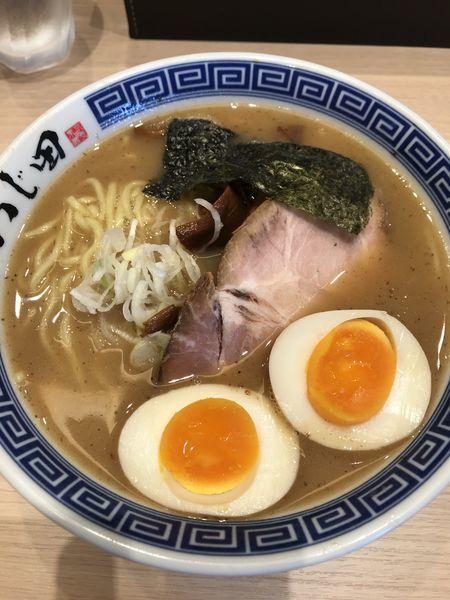 「濃厚味玉ラーメン  880円」@つじ田 池袋西口店の写真