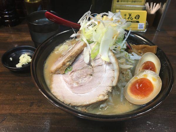 「味卵味噌チャーシュー麺」@麺処 花田 池袋店の写真