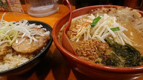 「伊勢味噌 味噌漬け 炙りチャーシュー麺」@麺場 田所商店 熊谷銀座店の写真