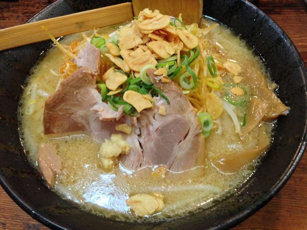 「濃厚味噌」@無双 赤坂店の写真