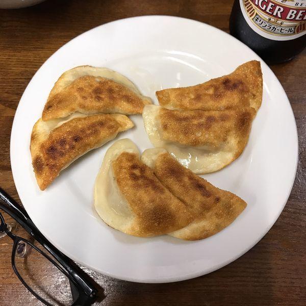 「焼 餃子」@餃子会館丸山の写真