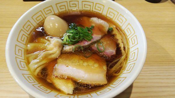「特製ラーメン(醤油) ¥1100」@中村麺三郎商店の写真