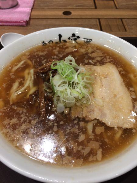 「醤油らーめん750円」@らーめん食堂 あの小宮の写真