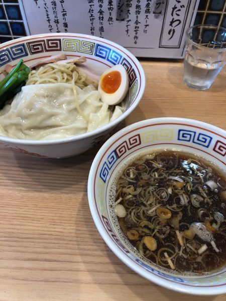 「つけ麺 大盛り」@ほっこり中華そば もつけの写真