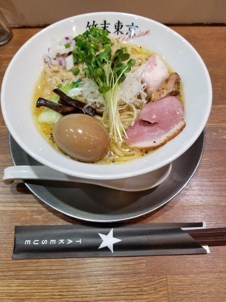 「味玉ホタテ鶏そば」@竹末東京プレミアムの写真