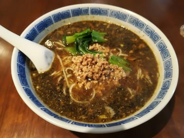 「5/15 担々麺(黒胡麻)900円」@中国家庭料理 MAOの写真
