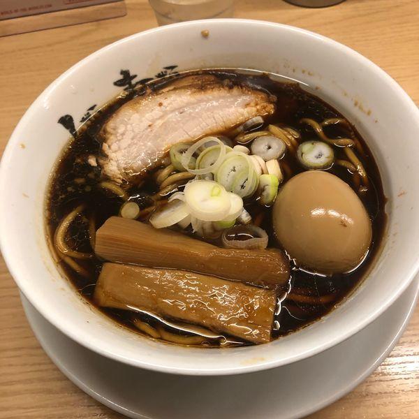 「らーめん micro 煮玉子」@人類みな麺類の写真
