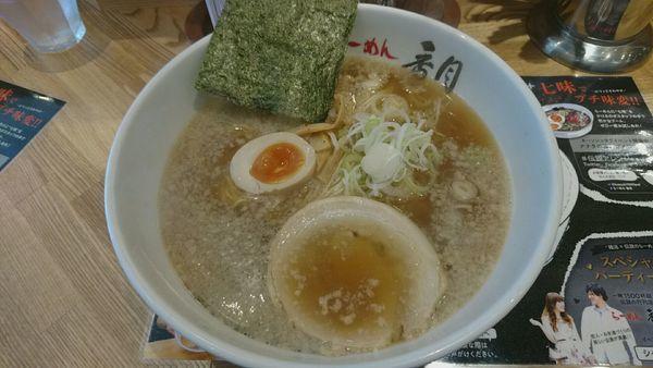 「醤油ラーメン_850円」@らーめん香月 五反田店の写真