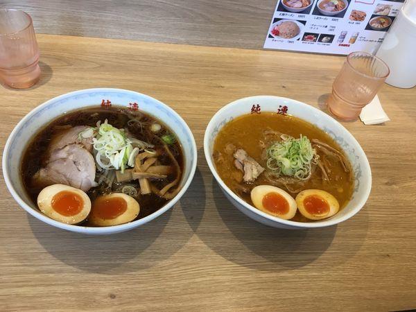 「味玉味噌ラーメン」@さっぽろ純連 札幌本店の写真