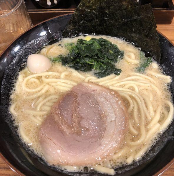 「ラーメン 醤油」@横浜家系ラーメン 壱角家 西川口店の写真