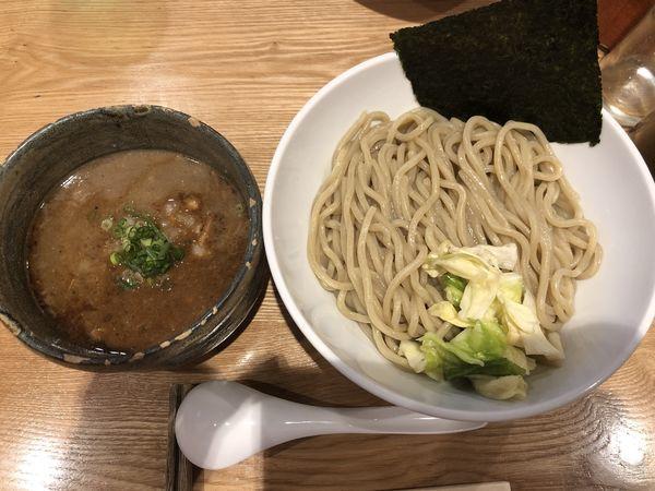「濃厚つけ麺」@自家製麺ばくばくの写真