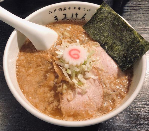 「中華そば(塩¥750)」@江戸前煮干中華そば きみはん 五反田店の写真