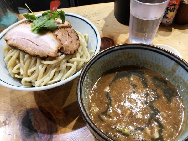 「濃厚煮干つけ麺(大盛)」@煮干麺 月と鼈の写真