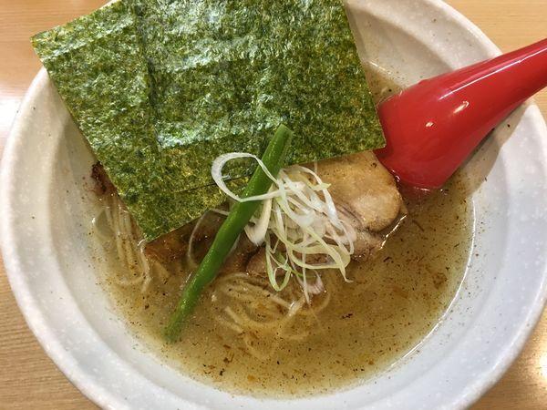 「魚鶏潮ラーメン」@らーめん 桑嶋の写真