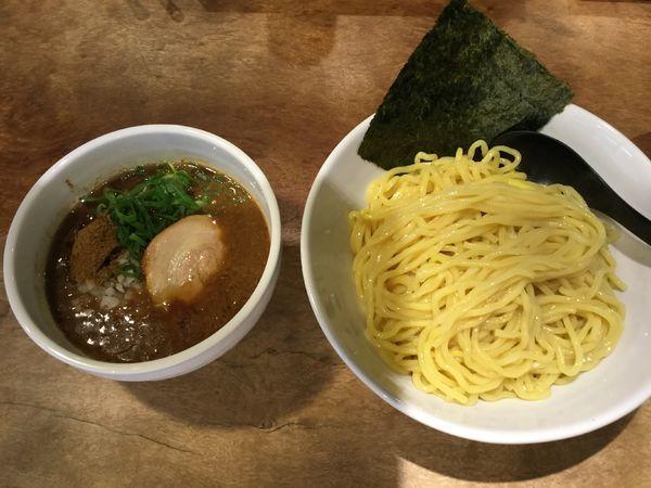 「魚介豚骨つけ麺(大) 800円」@小杉らぁめん つけめん 夢番地の写真