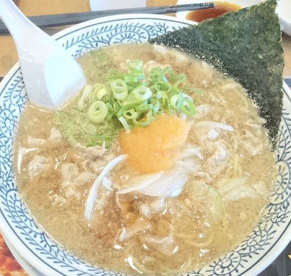 「肉そば」@丸源ラーメン 川口芝店の写真