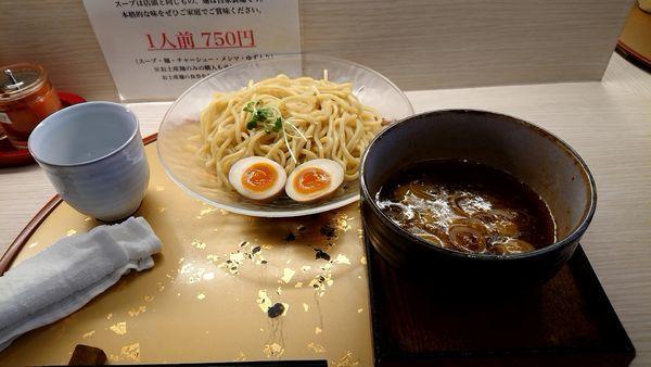 「味玉濃厚つけ麺」@麺屋 音 柏店の写真