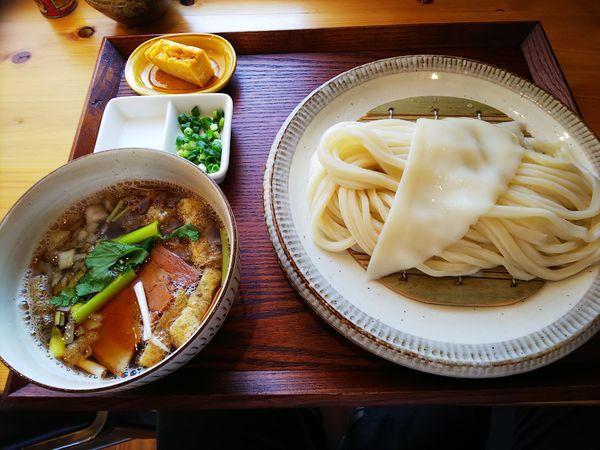 「肉汁うどん」@手打ちうどん さかもとの写真