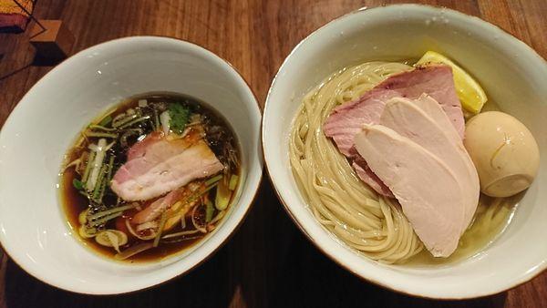 「つけ麺+特製(1120円)」@らぁめん鴇の写真