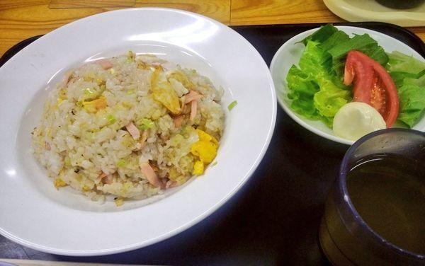 「チャーハン・味噌汁ぬき」@にのみや食堂の写真