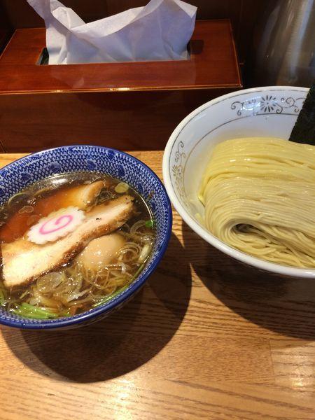「特製青湯つけそば1030円」@神田 勝本の写真