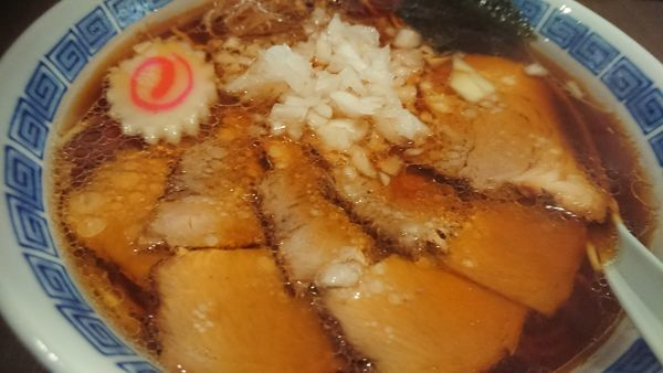 「バラチャーシュー麺」@中華そば専門店 味幸 新宿御苑店の写真