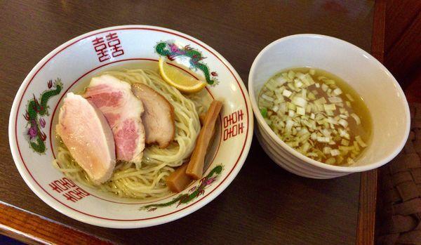 「昆布水つけ麺 〜 #ブレイクダンス 〜塩ver. 並盛」@つけ麺 弥七の写真