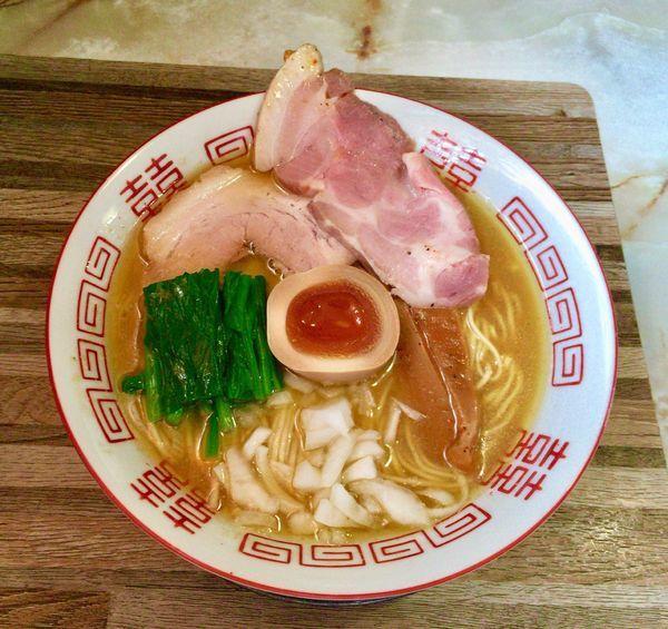 「あってり麺【大乱闘蟹煮干bros.SPECIAL】」@あってりめんこうじ 安中原市店の写真