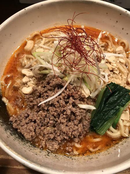 「【汁なし担々麺】各¥850」@味香房 海居人の写真