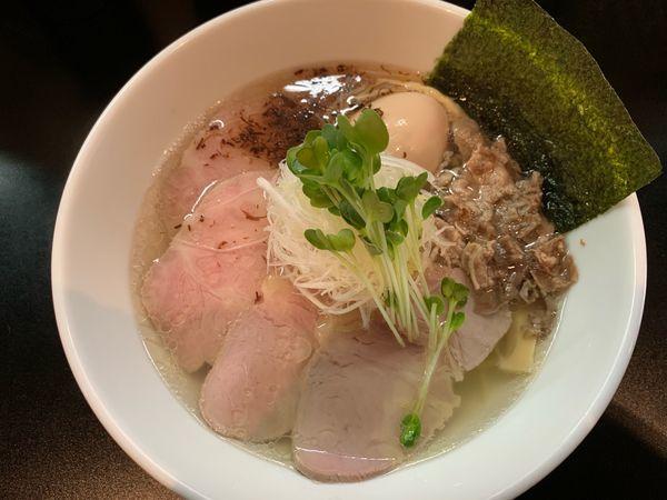 「特製塩らーめん1000円」@麺や 勝治の写真