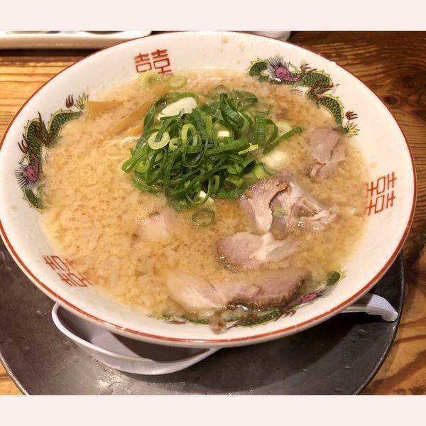 「中華そば650」@ますたに 京都駅ビル拉麺小路店の写真