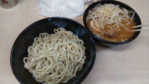「味噌つけ麺800円」@ラーメン二郎 京成大久保店の写真