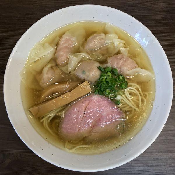 「塩ワンタン麺 ¥850円」@中華そば さわの写真