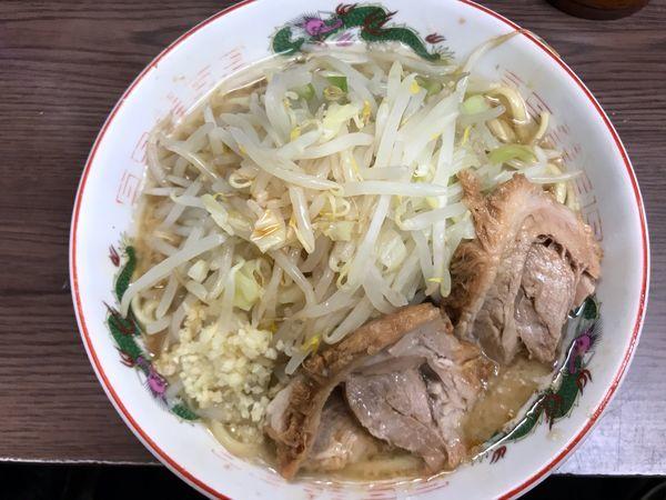 「小ラーメン(豚2枚)740円」@ラーメン二郎 横浜関内店の写真