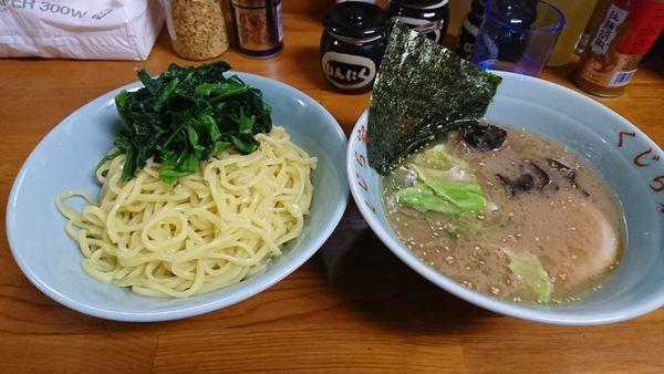 「つけ麺並み+ホウレン草」@ラーメン くじら家の写真
