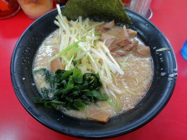 「ネギラーメン 620円 ※麺硬め・アブラ多め」@ラーメン力○の写真