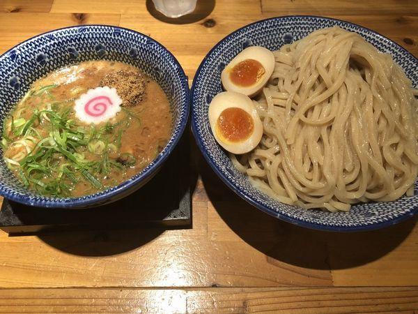 「魚介濃厚つけ麺」@必死のパッチ製麺所の写真