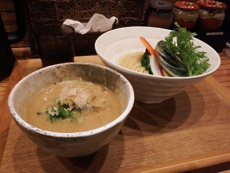 「無添加つけ麺(大250g)」@つけ麺 竹川の写真