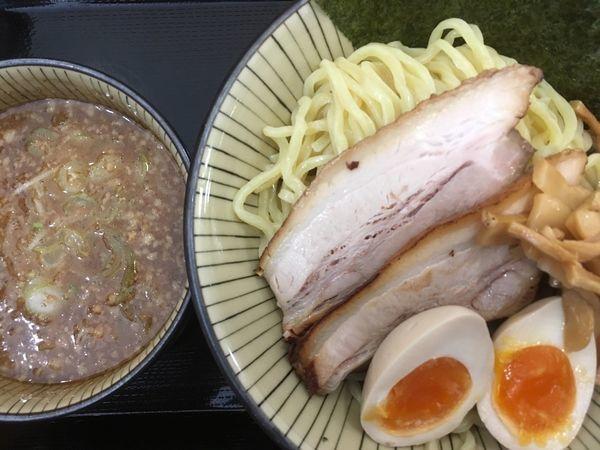 「特製もりそば(中盛) 850円」@優勝軒 日立店の写真