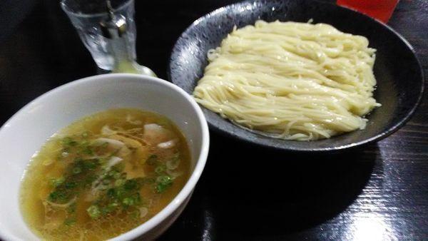 「塩つけ麺 大盛」@町田汁場 しおらーめん進化 中山店の写真