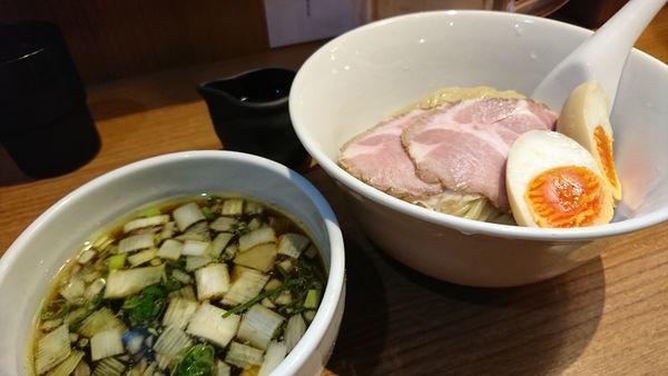 「つけ麺」@鶏そば 煮干そば 花山の写真