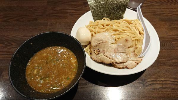 「煮干しつけ麺」@煮干し中華そば 麺屋一禾の写真