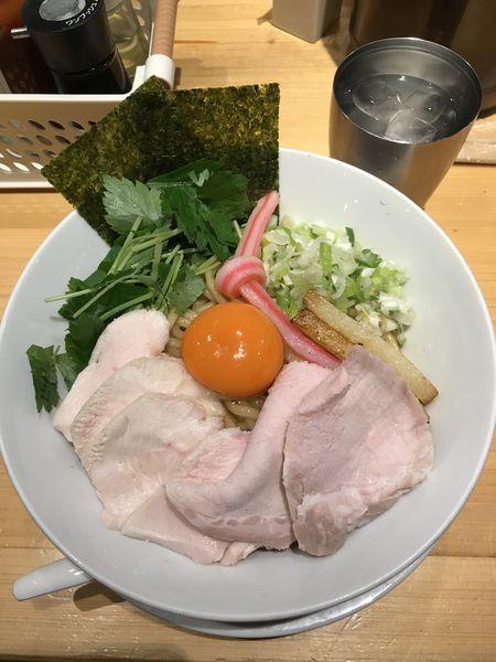 「油そば」@Ginza Noodles むぎとオリーブの写真