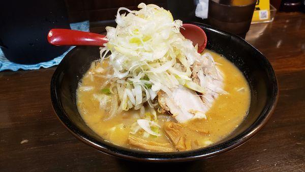 「味噌ラーメン 850円☆」@麺処 花田 池袋店の写真