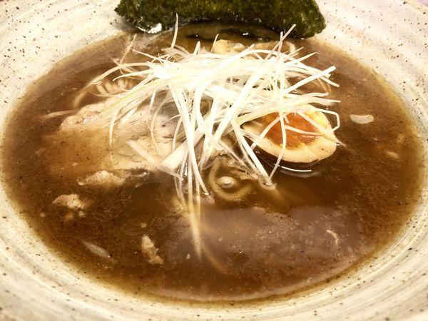 「醤油ラーメン  大盛り」@麺や なかむらの写真