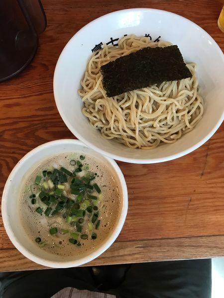 「つけ麺・中盛 850円」@富士らーめんの写真