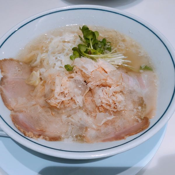 「ラーメン 塩」@らーめん鱗 茨木店の写真