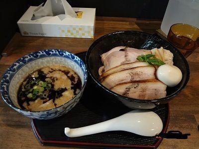 「黒豚骨つけ麺」@長野らぁ麺 さくら木の写真